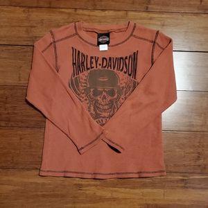 Harley-Davidson Boys Long Sleeve Shirt